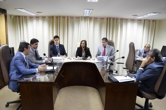 Reunião da CCJ da Assembleia Legislativa do RN.
